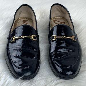 Sam Edelman   Lorraine Black Patent Slip On Loafer